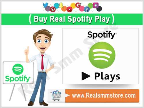 Buy Real Spotify Play